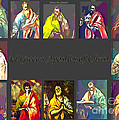 El Greco's Apostles of Christ Poster by Barbara Griffin