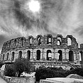El Jem Colosseum 2 Poster by Rain Bow