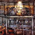 Electrician - Turbine Station Print by Mike Savad
