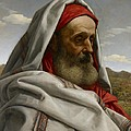 Eliezer of Damascus Print by William Dyce