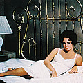 Elizabeth Taylor in Cat on a Hot Tin Roof  Print by Silver Screen