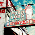 Elliston Place Soda Shop Poster by Amy Tyler