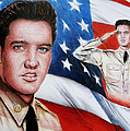 Elvis Patriot  Poster by Andrew Read