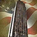 Empire State Building Print by Mark Rogan