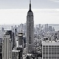 Empire State Print by CD Kirven