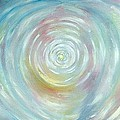 Energy Vortex Print by Eileen Anglin