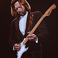 Eric Clapton Print by Paul  Meijering