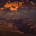 Evening in the Canyon Print by Andrew Soundarajan