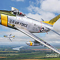 F-86L of the 82nd FIS Poster by Stu Shepherd