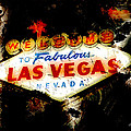 Fabulous Las Vegas Print by Anthony Ross