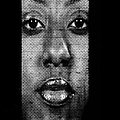 Face to Face - Crown Fountain Chicago Print by Christine Till