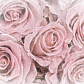 Faded roses Print by Jane Rix