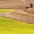 Fall Plowing Print by Latah Trail Foundation