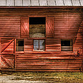 Farm - Barn - Visiting the Farm Print by Mike Savad