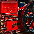 Farm Equipment - International Harvester Feed and Cob Mill Poster by Paul Ward