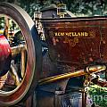Farm Equipment - New Holland Feed and Cob Mill Poster by Paul Ward