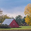 Farmstead With Fall Colors Poster by Paul Freidlund