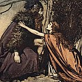 Father Father Tell me what ails thee With dismay thou art filling thy child Print by Arthur Rackham