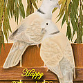Father's Day Doves by Jeanette K