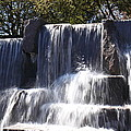 FDR Memorial - Washington DC - 01131 Print by DC Photographer