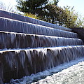 FDR Memorial - Washington DC - 01132 Print by DC Photographer