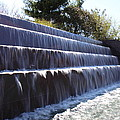 FDR Memorial - Washington DC - 01133 Print by DC Photographer