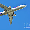 FedEx at work Poster by Kaye Menner