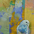 Feng Shui Parakeets Poster by Michael Creese