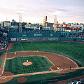 Fenway Park Photo - Inside View Print by Horsch Gallery