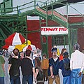Fenway Park spring time Poster by Carmela Cattuti