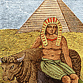 Figure Symbolizing Egyptian Poster by Getty Research Institute