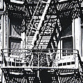 FIRE ESCAPE Poster by Larry Butterworth