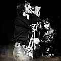 Fire In A Storm  Jim Morrison Poster by Iconic Images Art Gallery David Pucciarelli