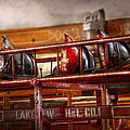 Fireman - Ladder Company 1 Print by Mike Savad