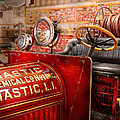 Fireman - Mastic chemical co Print by Mike Savad