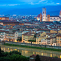 Firenze by Night Poster by Inge Johnsson