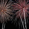 Fireworks Print by Andrew Nourse