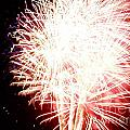 Fireworks by Angela Print by Angelia Hodges Clay