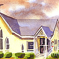 First Presbyterian Church Ironton Missouri Print by Kip DeVore