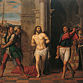 Flagellation Of Christ , By Jacopo Print by Palma Il Giovane
