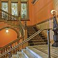 Flagler College Entryway Print by Rich Franco