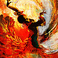 Flamenco Dancer 021 Poster by Catf