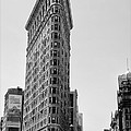 Flat Iron in Black and White Print by Bill Cannon