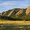 Flatirons from Chautauqua Park Print by James BO  Insogna