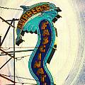 Flippers Facination - Wildwood Boardwalk Poster by Bill Cannon