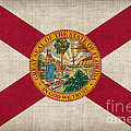 Florida State Flag Poster by Pixel Chimp