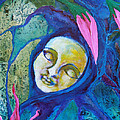 Flower Child Dreams Print by Shelley Bredeson