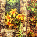 Flower - Lily - Yellow Lily  Poster by Mike Savad