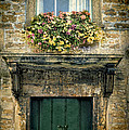 Flowers Over Doorway Poster by Jill Battaglia
