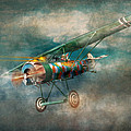 Flying Pig - Acts of a pig Print by Mike Savad